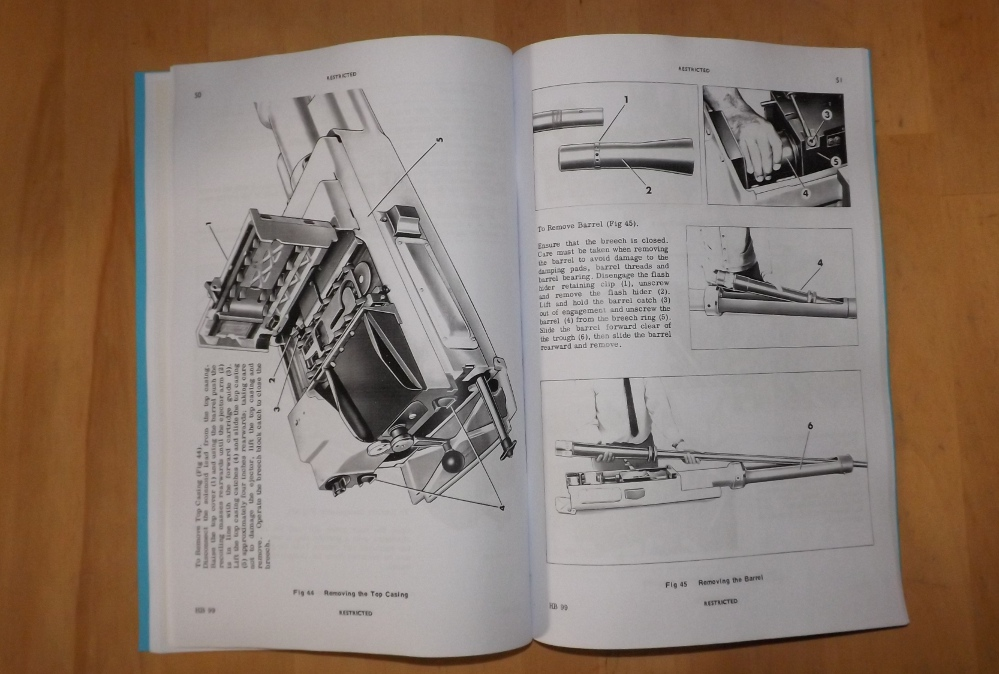Rarden 30mm Gun L21a1 User Handbook
